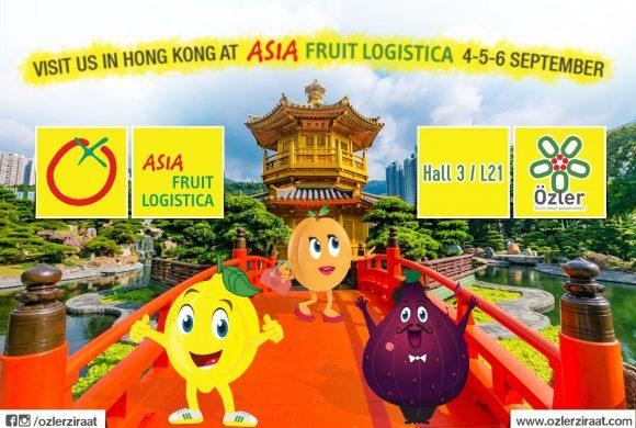 Asia Fruit Logistica 4-5-6 September
