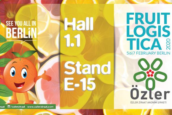Berlin Fruit Logistica 5-6-7 February 2020